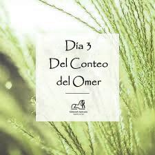 Día #03 del conteo del Omer