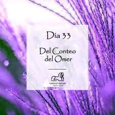 Día 33 del Conteo del Omer