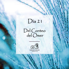 Día 21 del Conteo del Omer