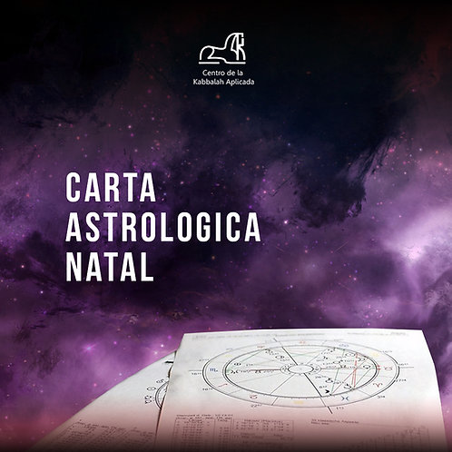 Carta astrológica natal. (El camino hacia tu máximo potencial)