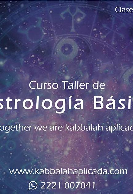 Curso Taller de Astrología Básica.
