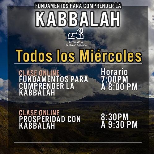 Clase de Kabbalah día Miércoles