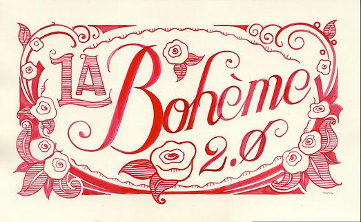 la boheme 2.0 poster