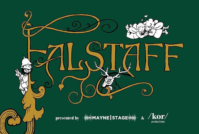 falstaff poster kor productions