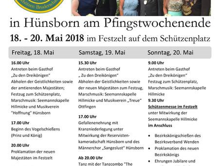 Schützenfest in Hünsborn 2018