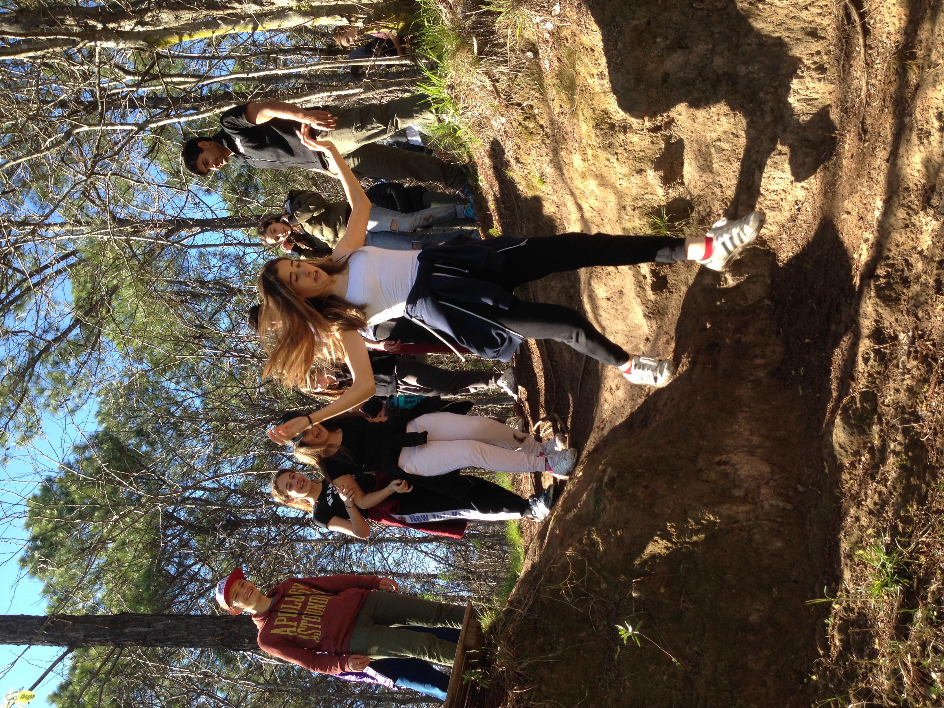 Caminata o trekking de aventura