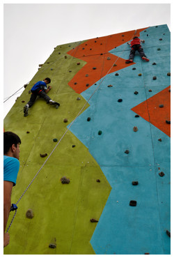 Muro de escalada Pilar