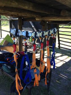 Seguridad en campamentos de aventura