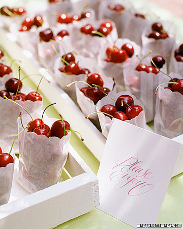 Bag of Cherries - Martha Stewart