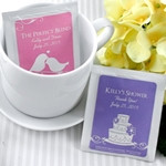 Personalised Teabag available from A Wedding Less Ordinary