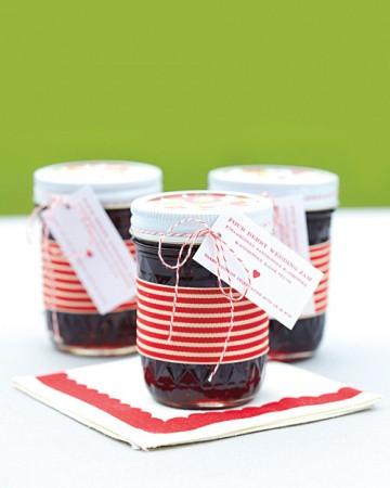 Homemade Jam Favours (Martha Stewart)