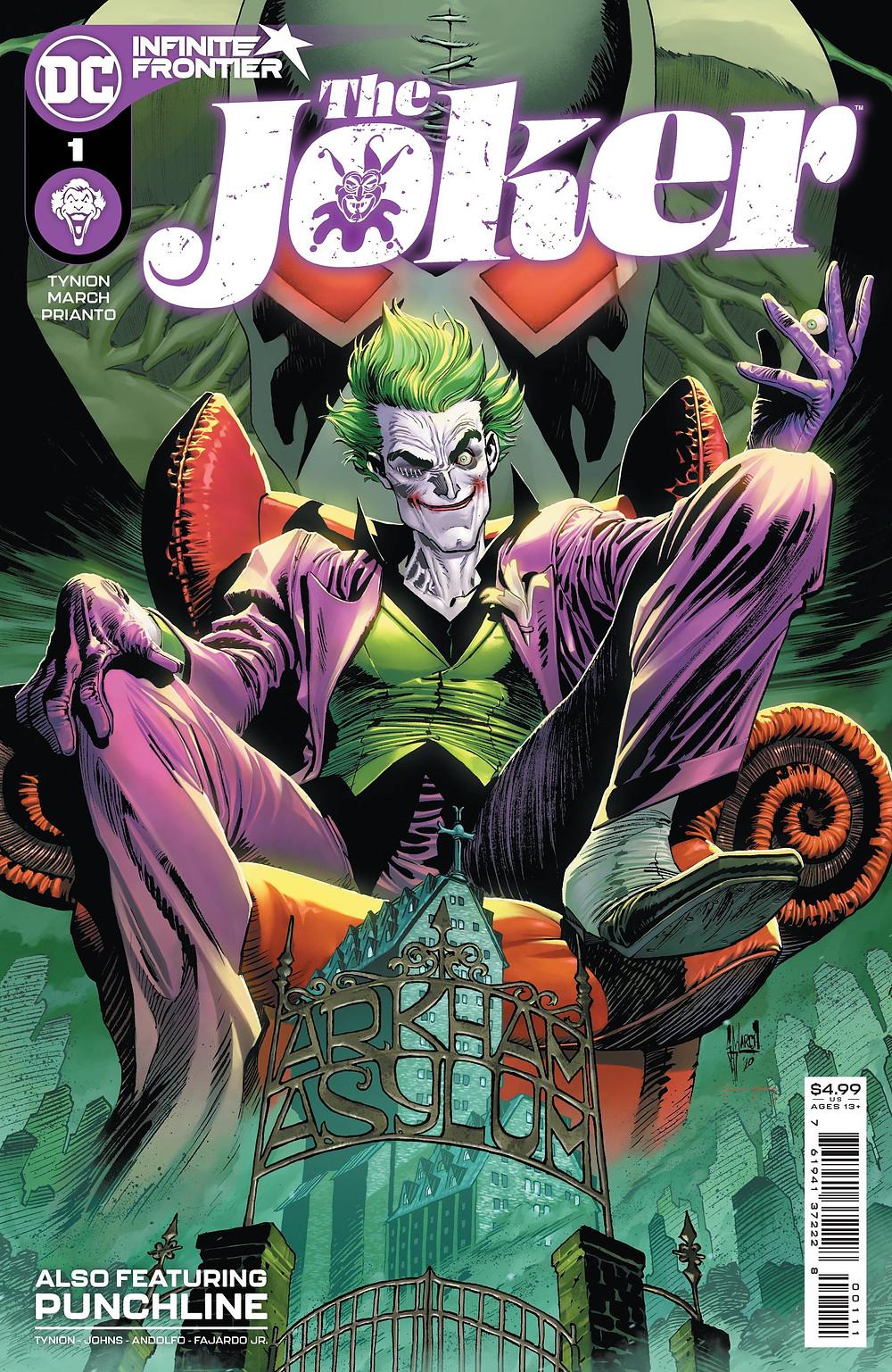 The Joker #1 Cover