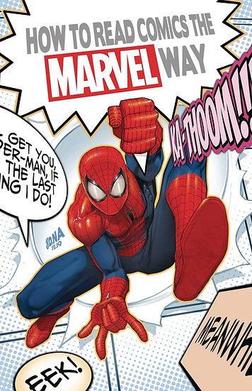 HOW TO READ COMICS THE MARVEL WAY #1 (OF 4) (759606098224001
