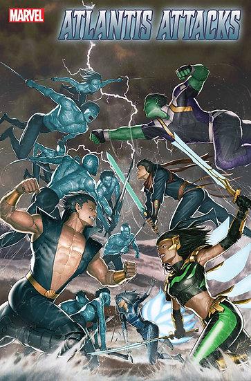 ATLANTIS ATTACKS #1 (OF 5) RON LIM VAR (75960609802600131)