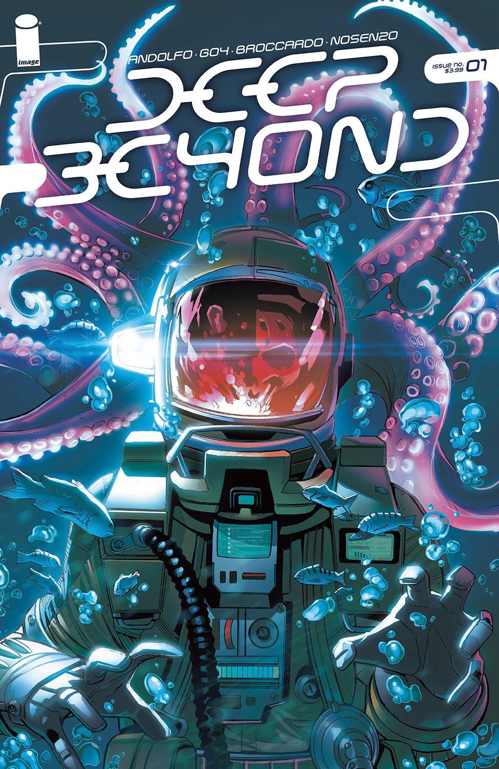 Deep Beyond #1 Cover
