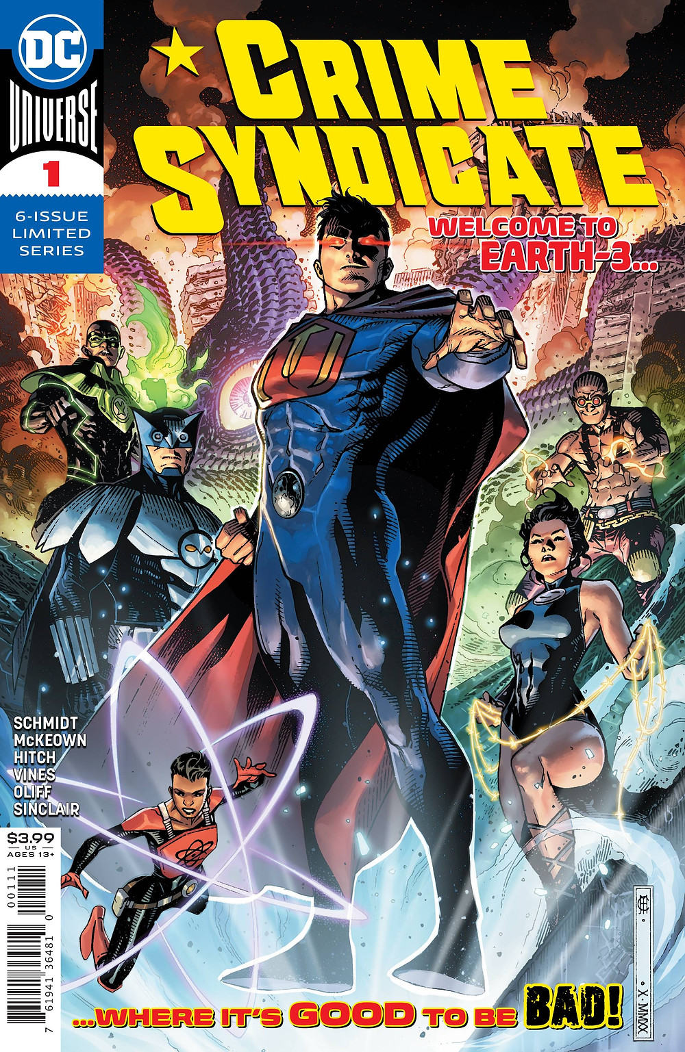 Crime Syndicate #1 Cover