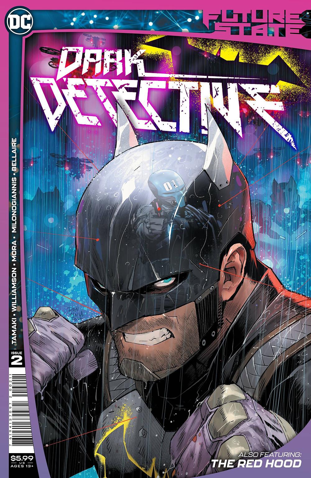 Future Stat: Dark Detective #2 Cover