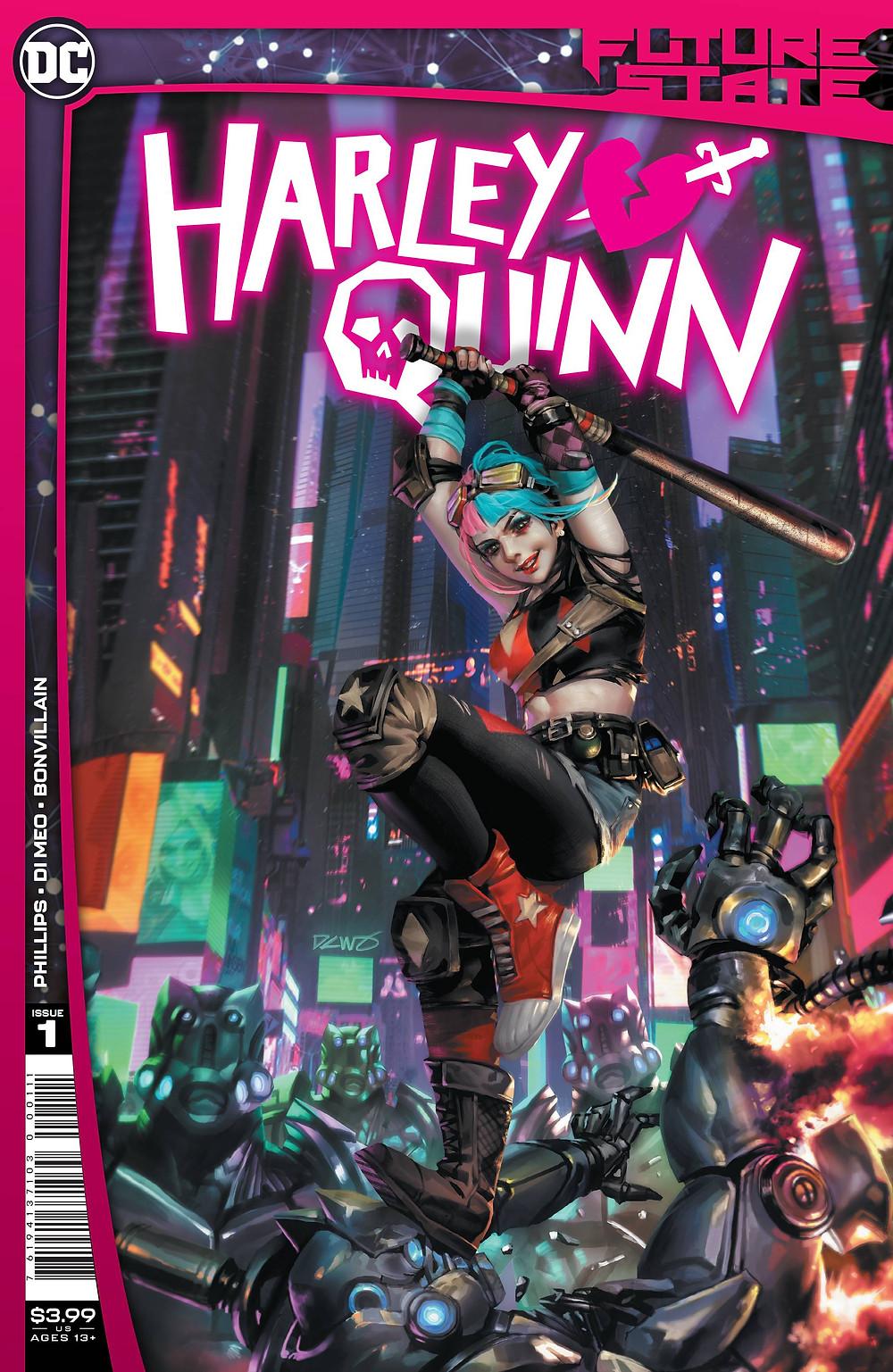 Future State: Harley Quinn #1 Cover (c)DC Comics