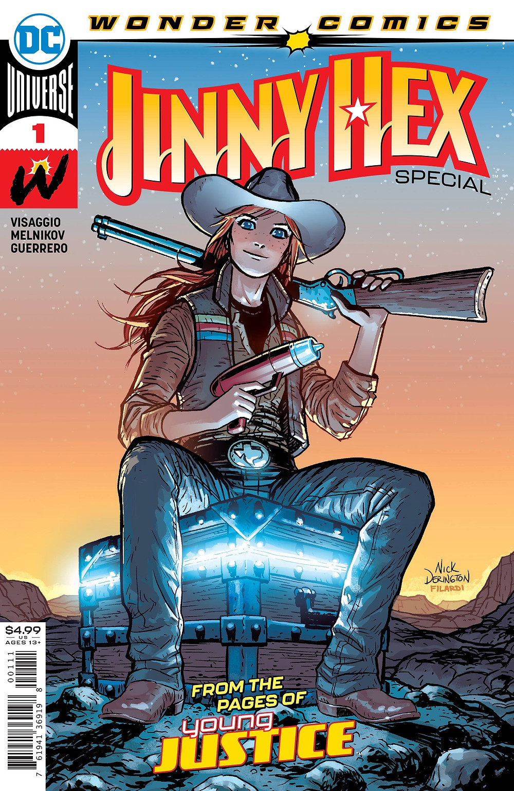 Jinny Hex Special #1 Cover. Art by Nick Derrington (c) DC Comics