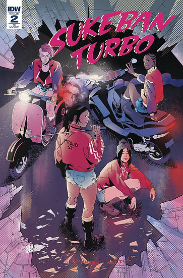 SUKEBAN TURBO #2 (OF 4) SANTOS CVR