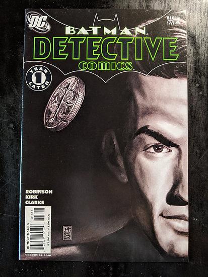 DETECTIVE COMICS #818