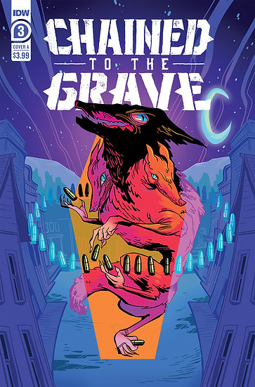 CHAINED TO THE GRAVE #3 (OF 5) CVR A SHERRON