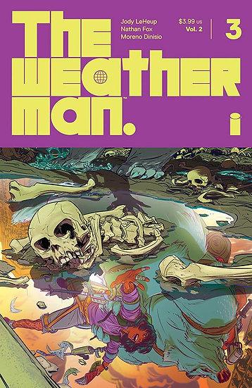 WEATHERMAN VOL 2 #3 CVR A FOX (MR)