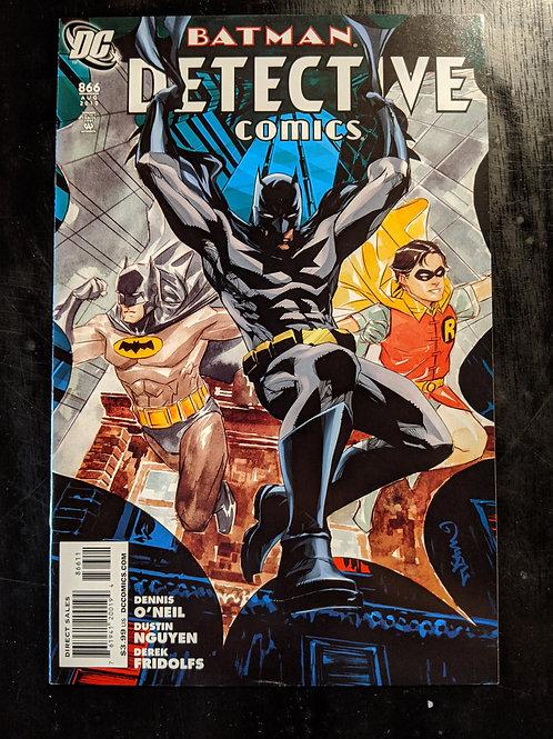DETECTIVE COMICS #866