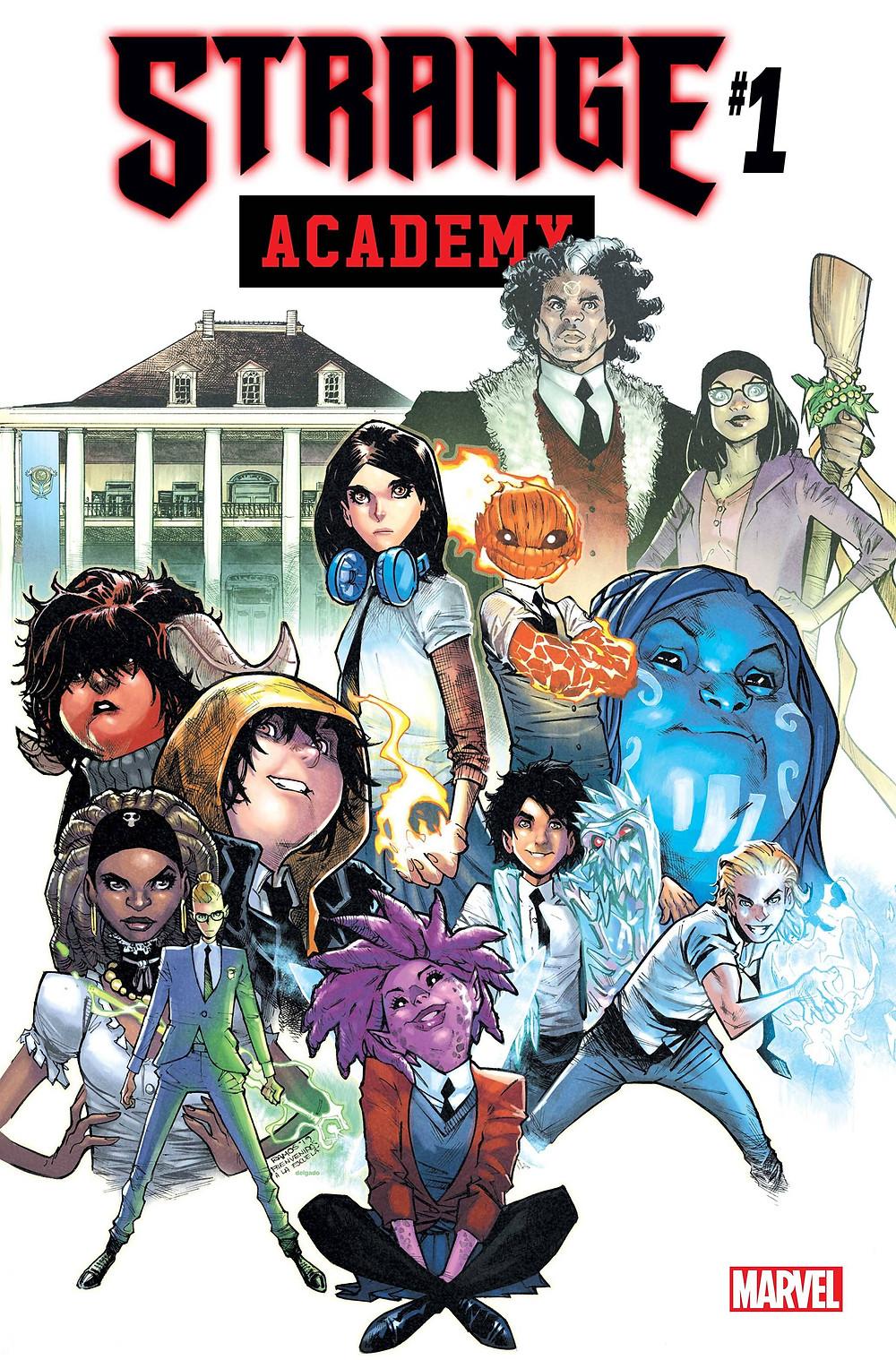 Cover of Strange Academy #1