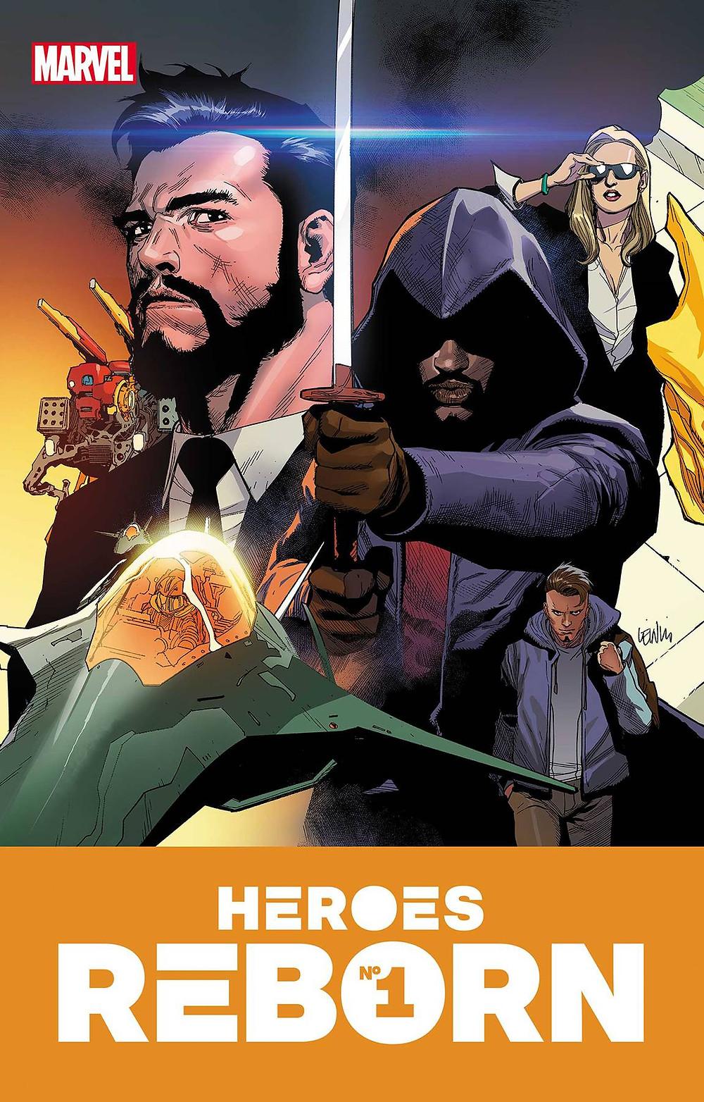 Heroes Reborn #1 Cover