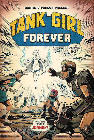 TANK GIRL #6 CVR A PARSON