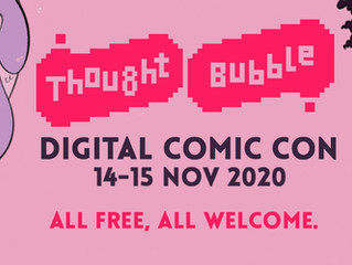 """""""Similar to climbing Ben Nevis!"""" Geeks at the Gates #58, talking with Thought Bubble's Chloe Green"""