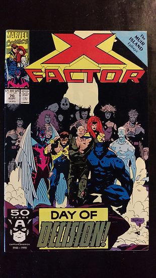 X FACTOR #70 (SEP 91)