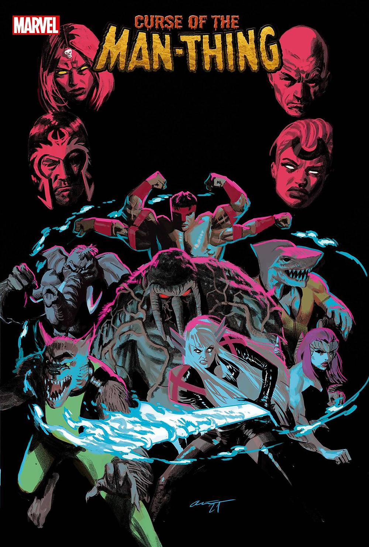 X-Men: Curse of the Man Thing #1 cvr