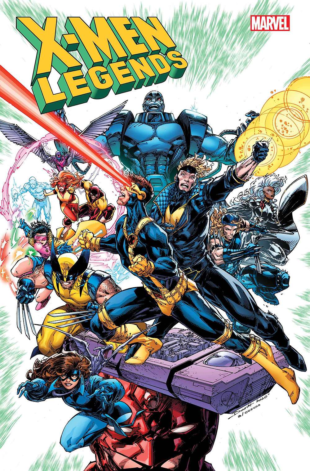 X-Men Legends #1 cvr