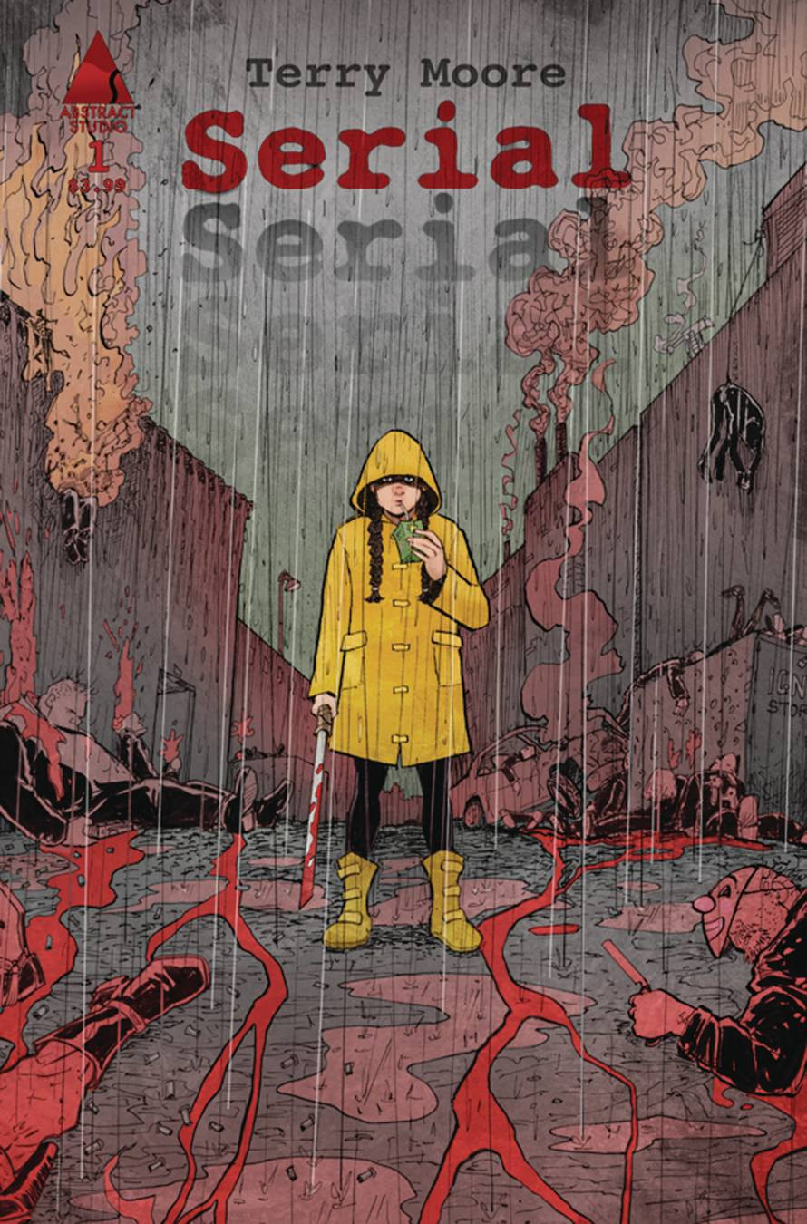 Serial #1 Cover art by Terry Moore