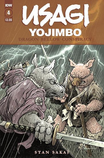 USAGI YOJIMBO DRAGON BELLOW CONSPIRACY #4 (OF 6)