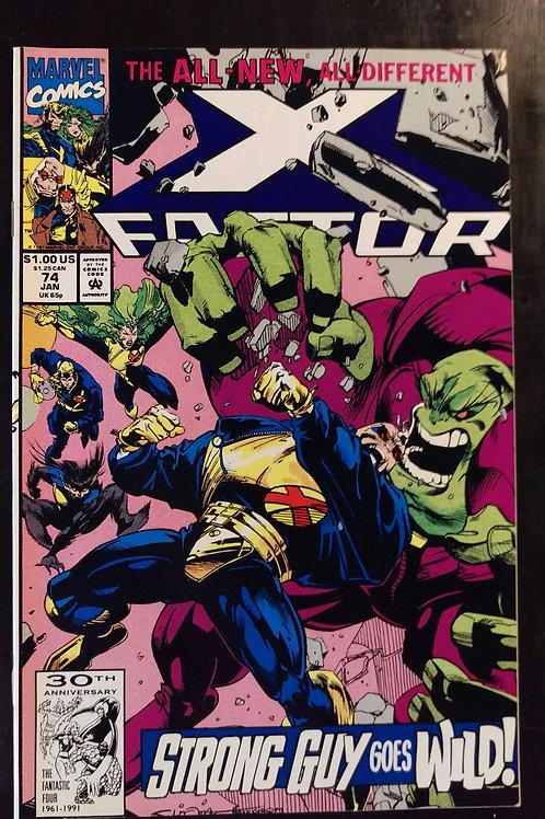 X FACTOR #74 (JAN 92)