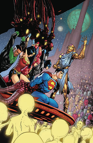 JUSTICE LEAGUE #50 (NOTE PRICE)