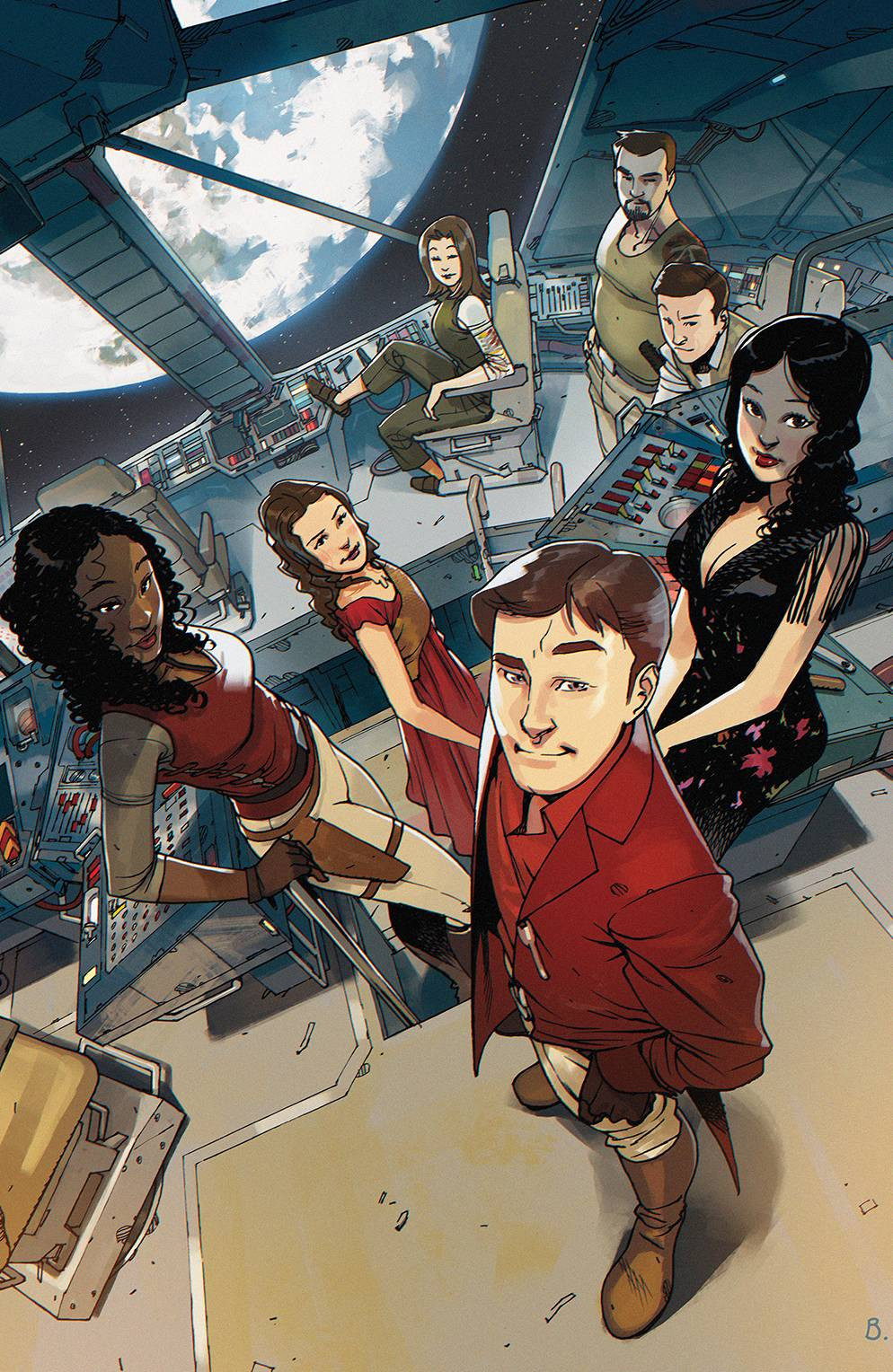 Firefly #25 Cover