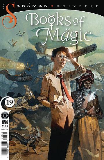 BOOKS OF MAGIC #19 (MR)