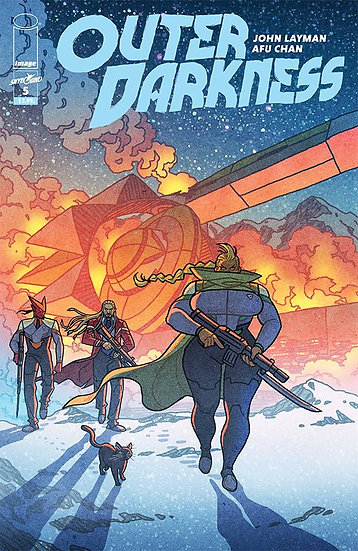 OUTER DARKNESS #5 (MR)