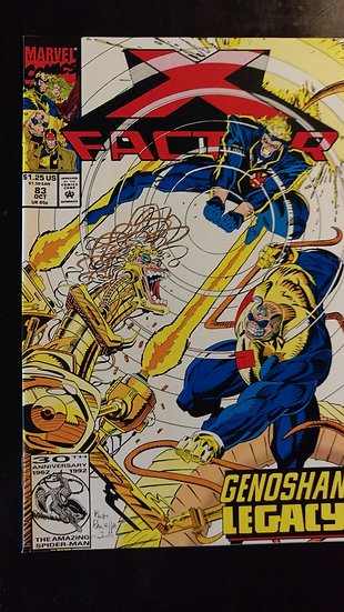 X FACTOR #83 (OCT 92)