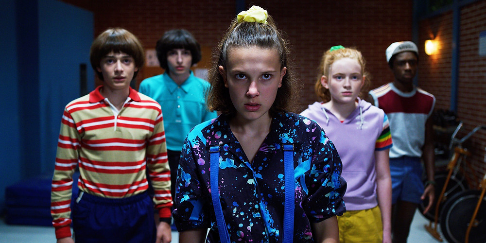 The young cast of Stranger Things 3