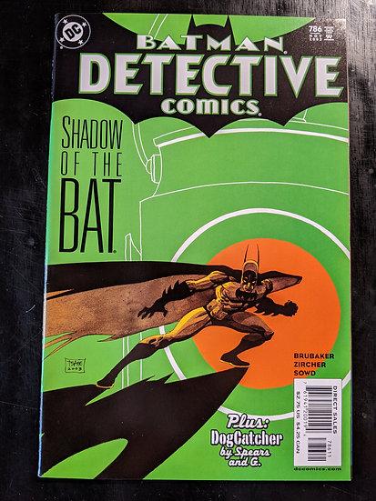 DETECTIVE COMICS #786