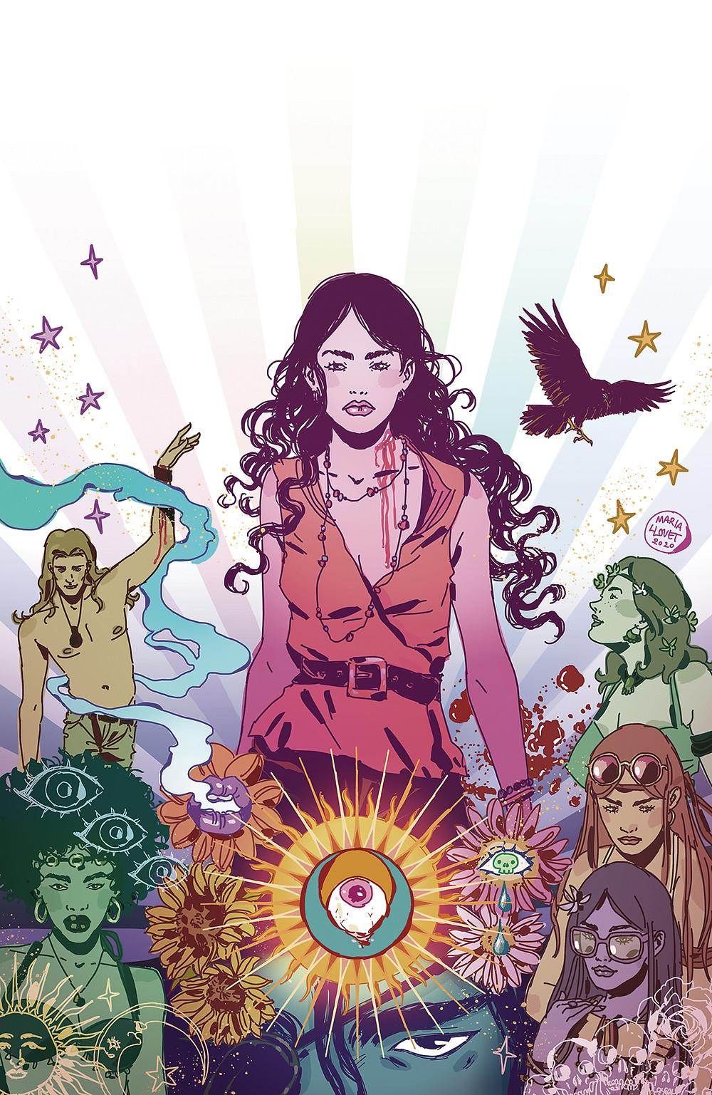Luna #1 Cover