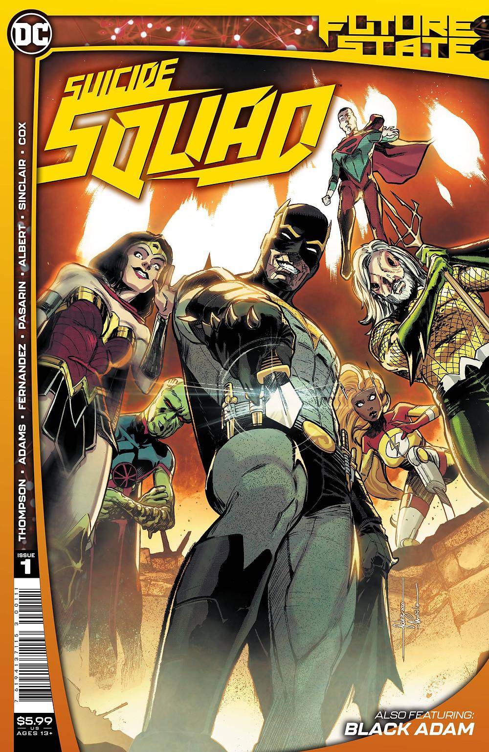 Future State: Suicide Squad #1 Cover