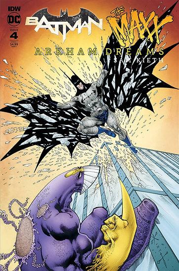 BATMAN THE MAXX ARKHAM DREAMS #4 (OF 5) CVR A KIETH