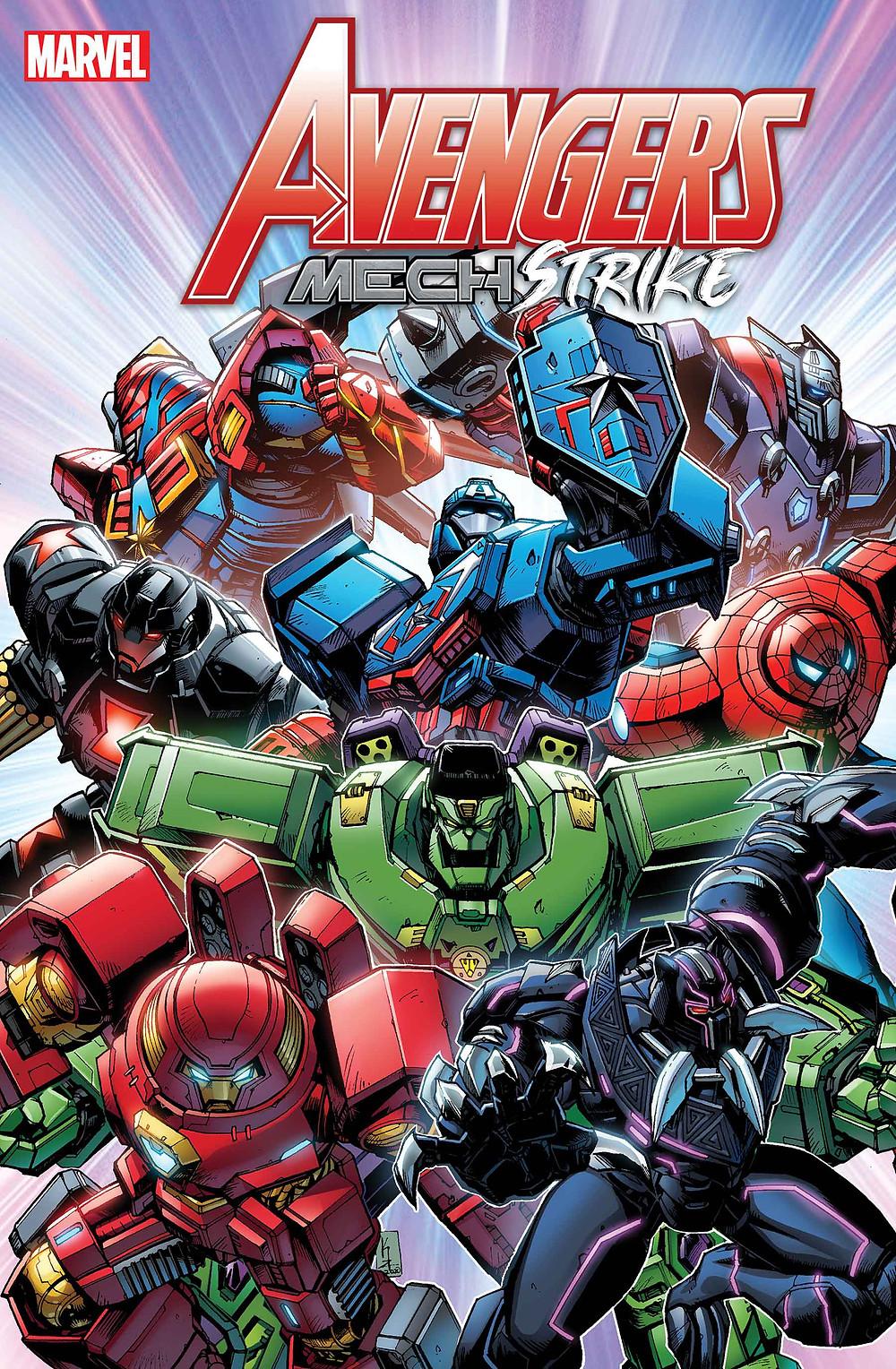 Avengers Mech Strike #1 Cover