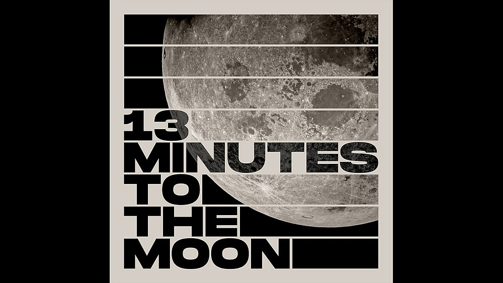 13 minutes to the moon logo